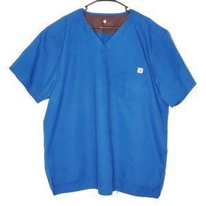 Carhartt Medical Nursing Scrub Top Mens Size 2XL